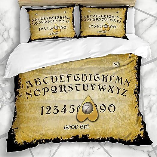 HARXISE Ropa de Cama - Funda nórdica Ouija Fire Board