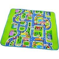 harayaa City Scene Foam Floor Mat Kids Baby Play Mat Carpet Rug for Home Party Picnic Outdoor Indoor - 130x160cm