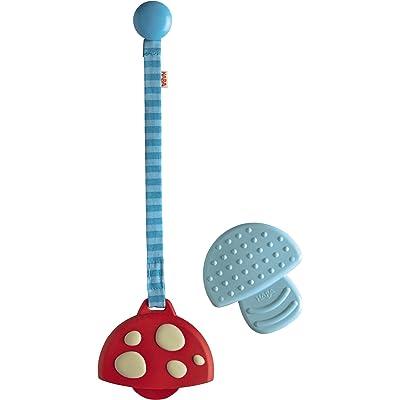 Haba Clutching Toy Mushroom Silicone Teether : Baby