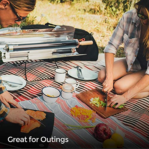GoSun Sport Pro Pack, Portable Solar Oven Ultimate Sport Bundle Package Off Grid Camping Kitchen With Solar Cooker Camp Stove Camping Cookware Accessories Package Fastest Outdoor Oven Sun Grill
