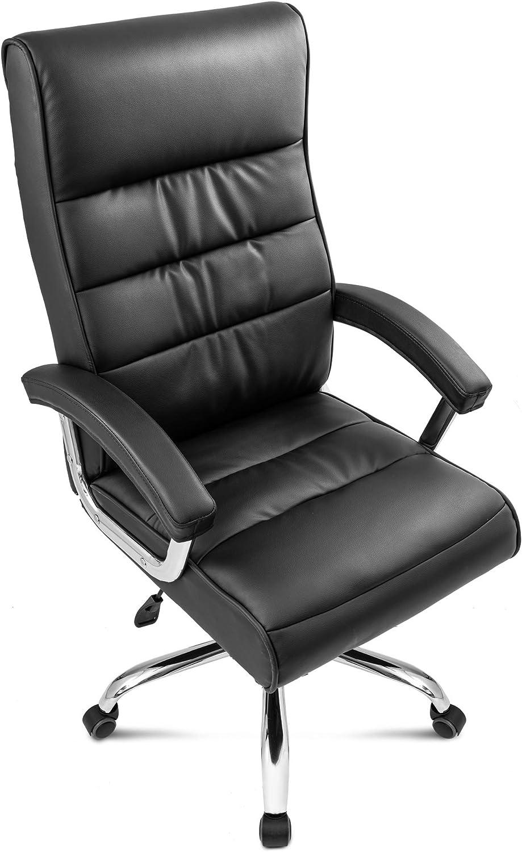 diVolio Bürostuhl President Drehstuhl Schreibtischstuhl Chefsessel  max.150kg