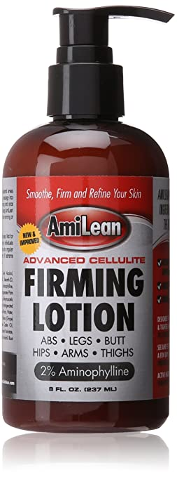 Amilean Cellulite Cream Firming Lotion, Anti-Fat & Anti Cellulite Formula, 8 fl. oz