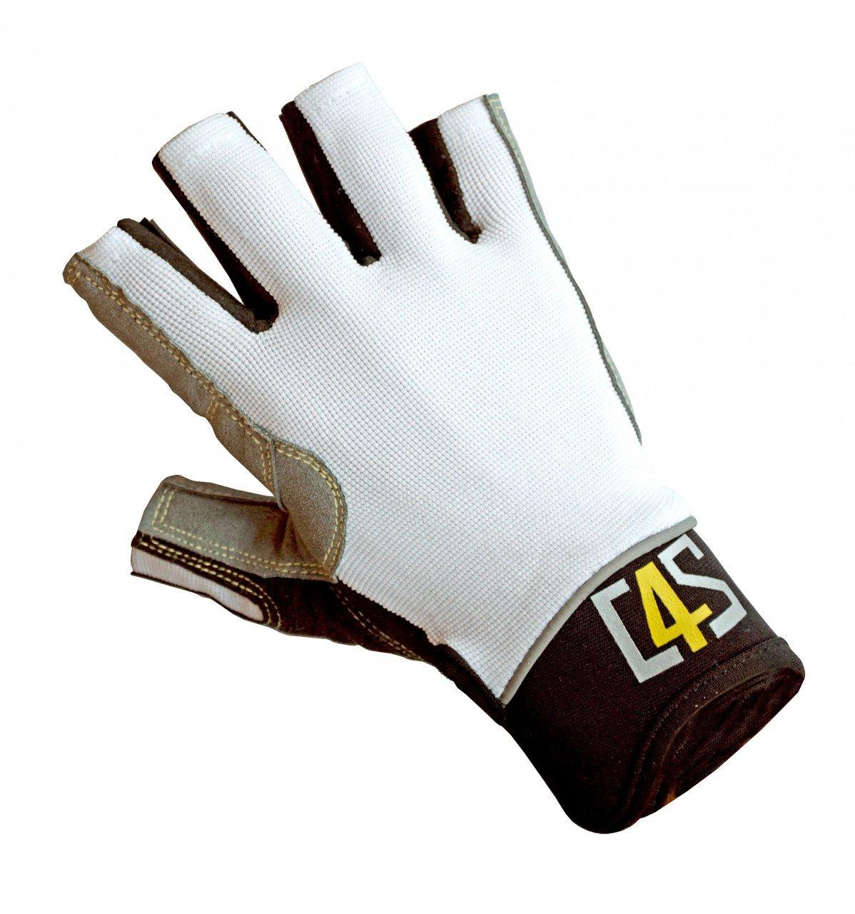 crazy4sailing Damen Herren Segelhandschuhe Racing - 5 Finger-frei c4s