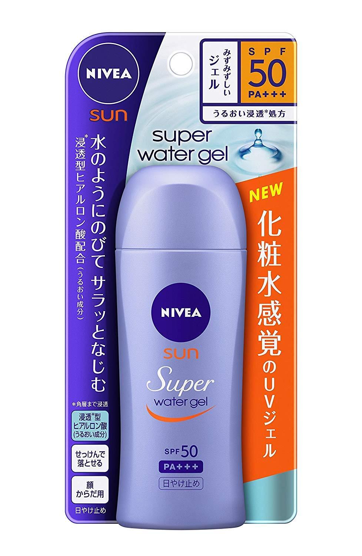 【花王】ニベアサン ウォータージェル SPF50 80g ×20個セット B00URAJ6H6