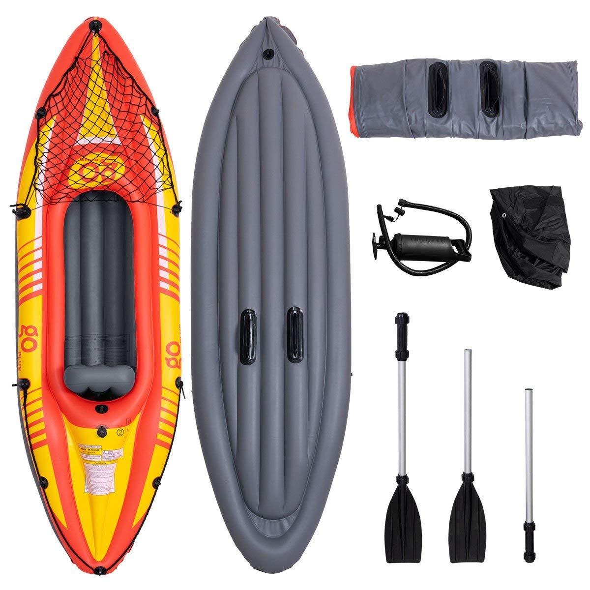 Gymax Kayak, Inflatable Kayak
