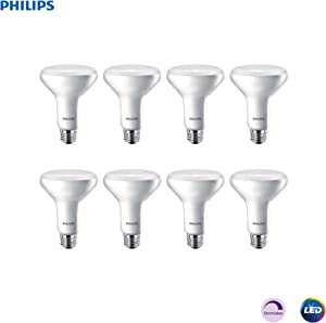 Philips LED 474098 Light Bulb, 8 Pack, Soft White