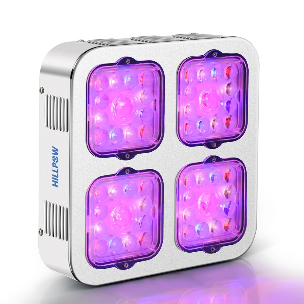 HILLPOW LED Grow Lights Full Spectrum UV IR 300W Plants Lamps for Indoor Plants Veg and Flower by HILLPOW
