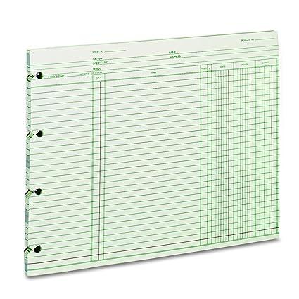 amazon com wilson jones gn2d accounting 9 1 4 x 11 7 8 pack of