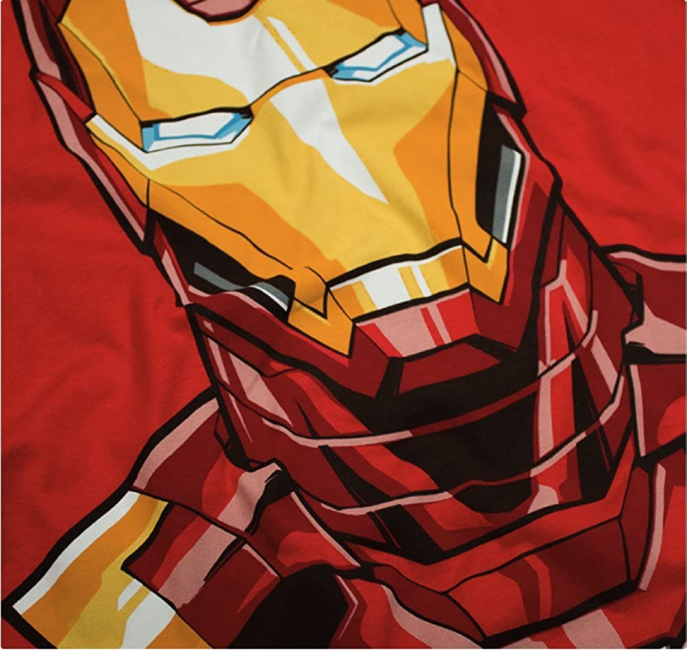 Amazon.com: Mascara De Latex Marvel x Iron Man Mens T Shirt Size Medium: Clothing