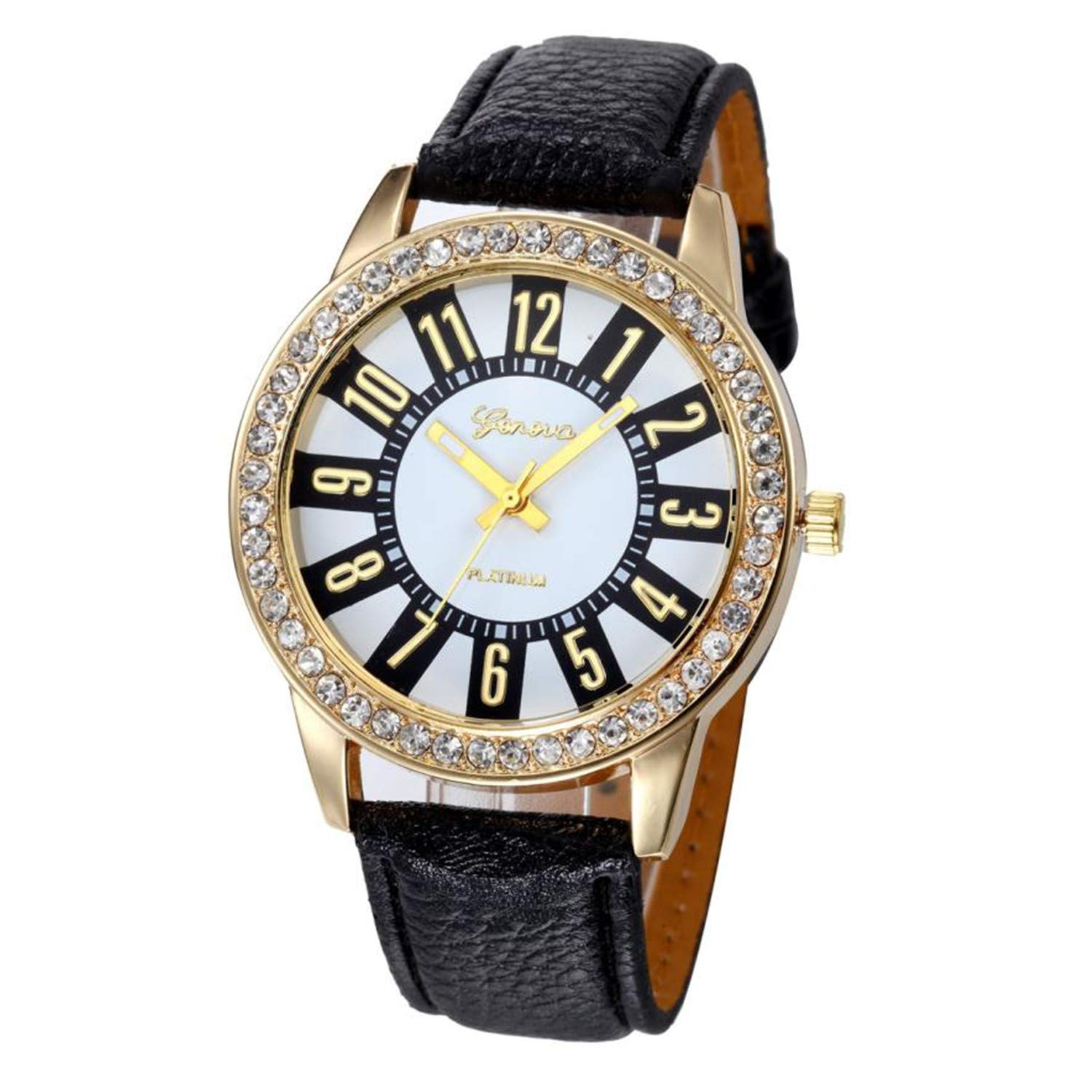 Amazon.com : sportsmanship Fashion Womens Geneva Watches ...