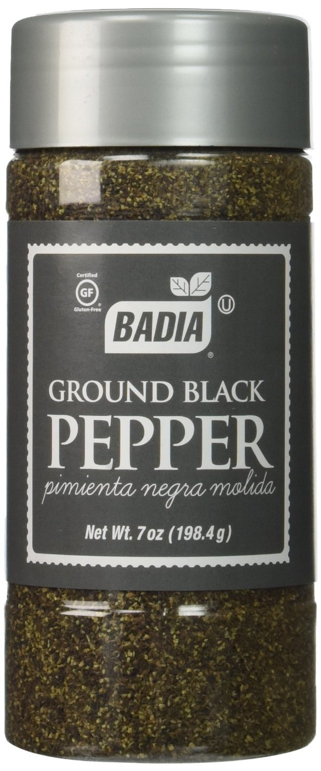 Badia Spices, Ground Black Pepper, Pack of 1, Size - 7 OZ, Quantity - 3 Each