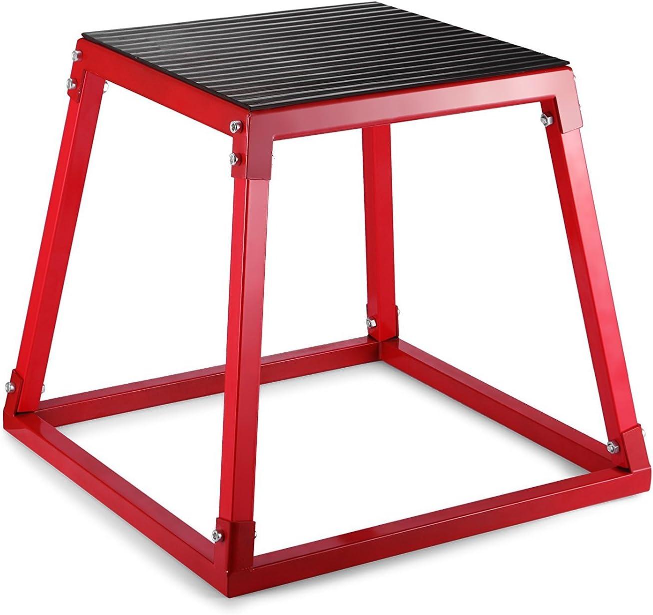 VEVOR Ztopia - Caja pliométrica de 12 pulgadas, caja de salto pliométrica de 18 pulgadas, caja de salto pliométrico de 24 pulgadas para entrenamiento ...