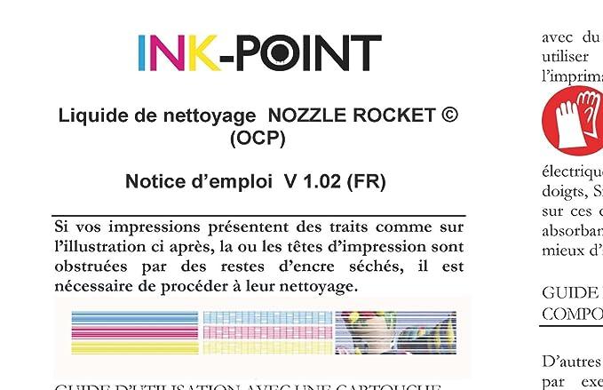 Refill System RSNROCKET - Kit de limpieza de cabezales para ...