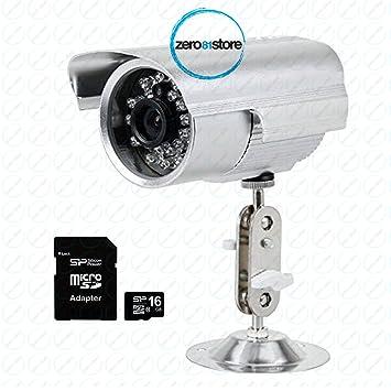 camera de surveillance qui enregistre sur carte sd