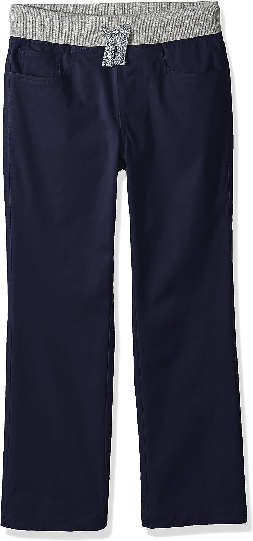 Marchio Spotted Zebra Knit Waistband 5-Pocket Pants Bambino