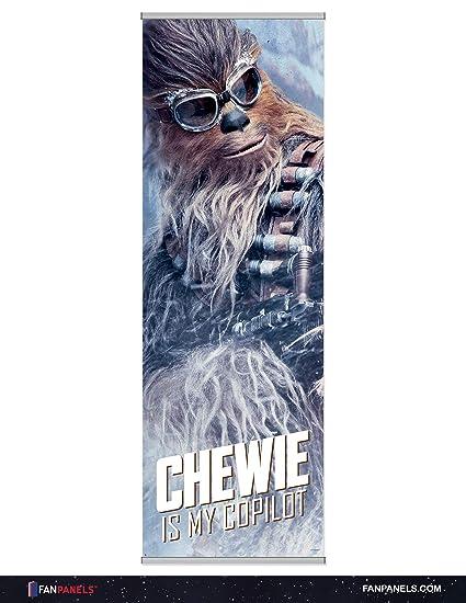 Amazon com: Star Wars Premium Canvas Fan Panel Art Featuring