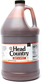 product image for Head Country Bar-B-Q Sauce, Hot & Spicy, 160 Ounce