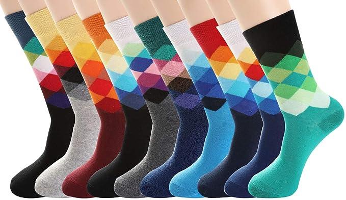 Amazon.com: PUTON - Calcetines de algodón para hombre ...