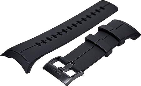Suunto Original Ersatz Uhrenarmband Für Alle Suunto Sparten Ultra Uhren Silikon Länge 24 5 Cm Stegbreite 25 Mm Tiefschwarz Inkl Stifte Zur Montage Ss022687000 Sport Freizeit