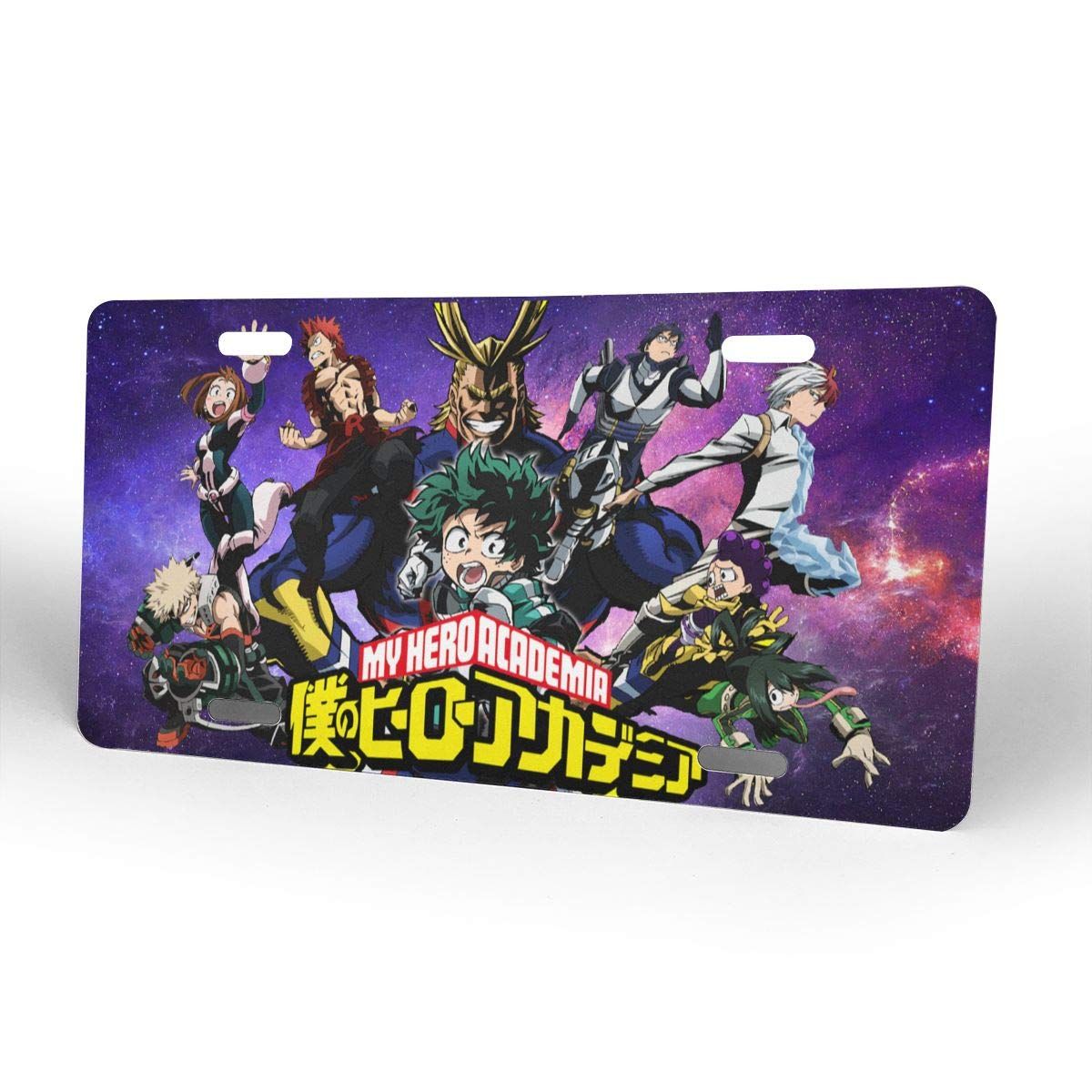 Amazon.com: Aruba Z Legend My Hero Academia Placa de metal ...
