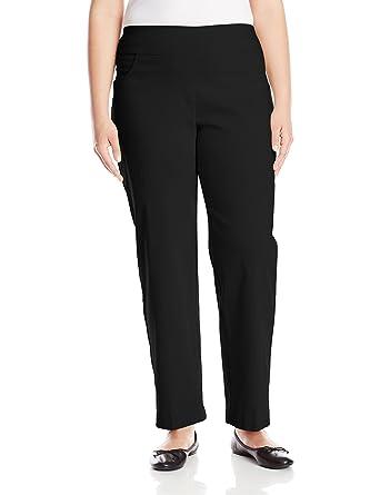 d119e962dc6 Ruby Rd. Women s Plus-Size Plus Pull-On Solar Millennium Super Stretch Pant