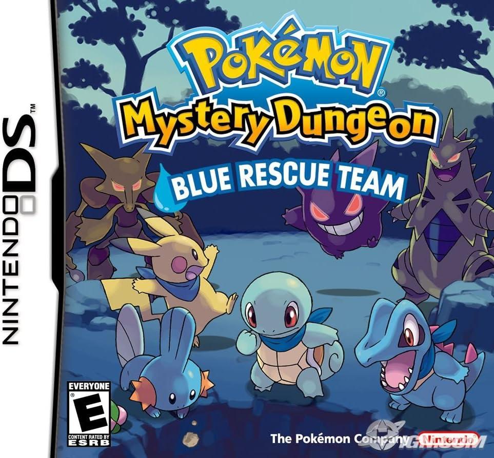 Nintendo Pokemon Mystery Dungeon: Blue Rescue Team - Juego (Nintendo DS, RPG (juego de rol), E (para todos)): Amazon.es: Videojuegos