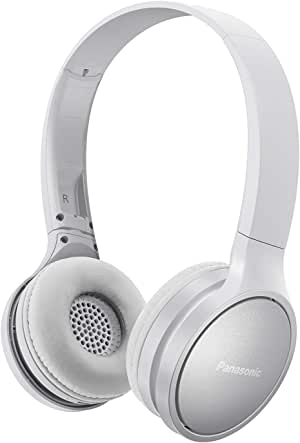 Panasonic RP-HF410BE-W Athleisure Style Wireless Headphone w Mic, White