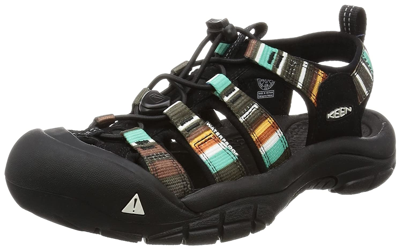 KEEN Women's Newport H2 Sandal B004QY1YVA 5.5 B - Medium Raya Black