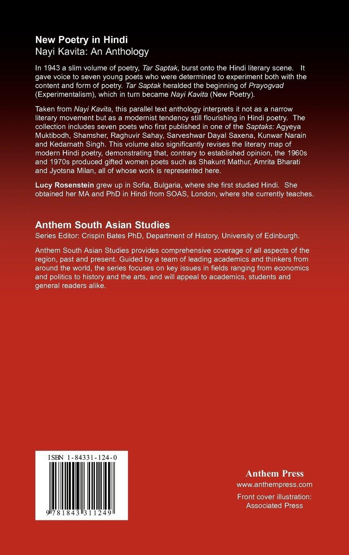 Buy New Poetry in Hindi: Nayi Kavita: An Anthology (Anthem South ...