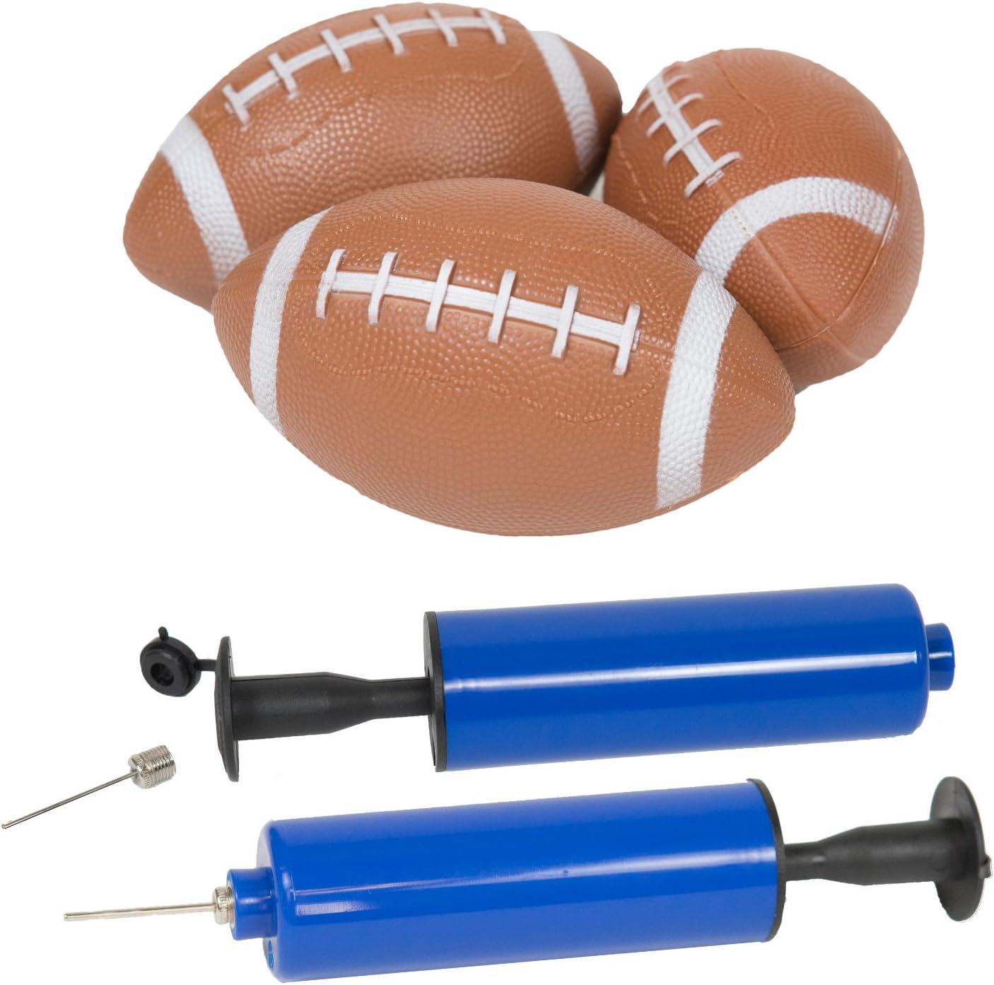 Amazon.com: ImpiriLux - Juego de fútbol inflable con 3 mini ...