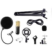 OZSTOCK BM800 Condenser Microphone Kit Studio Suspension Boom Scissor Arm Sound Card