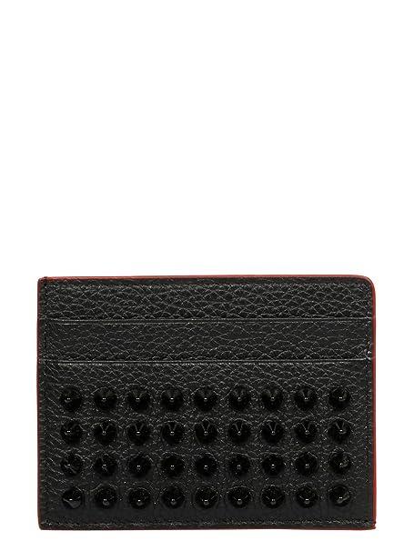 hot sale online d900d 16dc2 Amazon.com: Christian Louboutin Men's 1185049Cm53 Black Faux ...