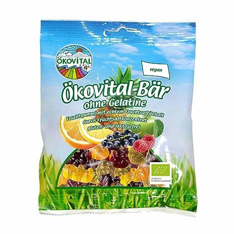 Ökovital Bio Bär ohne Gelatine 200g: Amazon.de: Lebensmittel & Getränke