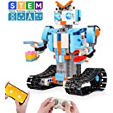Sillbird STEM Building Blocks Robot for Kids- Remote Control Engineering Science Educational Building Toys Kits for 8,9…