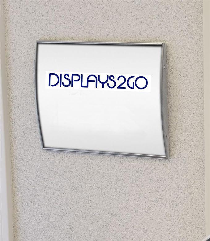 Amazon.com: displays2go Conjunto de 2, Cartel para puerta ...