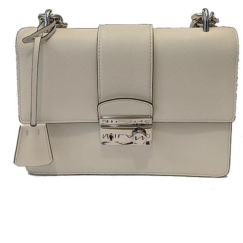 122cbb8021 Prada White Saffiano Designer Leather Crossbody Bag for Women 1BD034   Amazon.ca  Shoes   Handbags