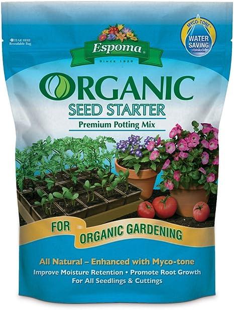 Espoma 16 Quart Organic Seed Starter Premium Potting Mix