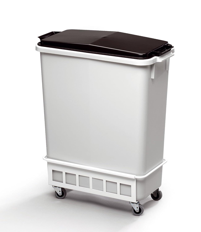 Durable Durabin Trolley 60 Litre White