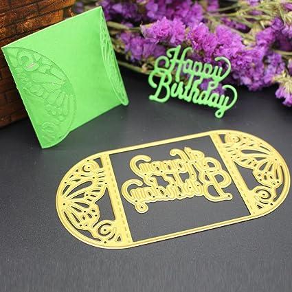 callm Metal Cutting Dies Stencil Card Making Dies Lace Flower Mould ...