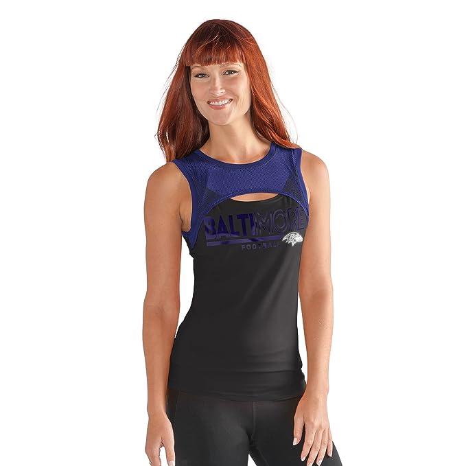 aca5e658b1b14a Amazon.com : GIII For Her NFL Women's Power Up! Tank : Sports & Outdoors