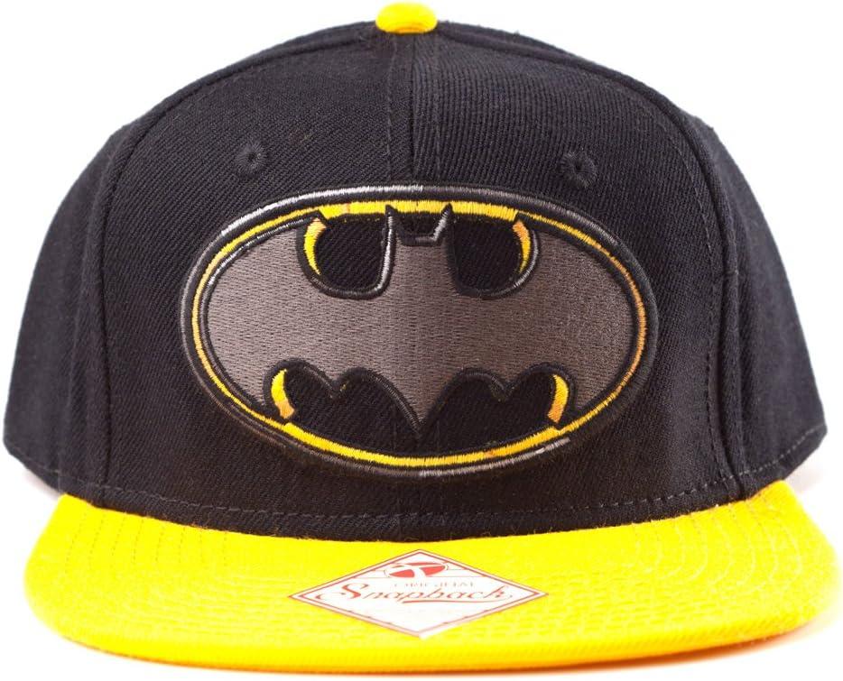 Batman Hombre College Snapback Cap – Dark Knight Logo Gorra de ...