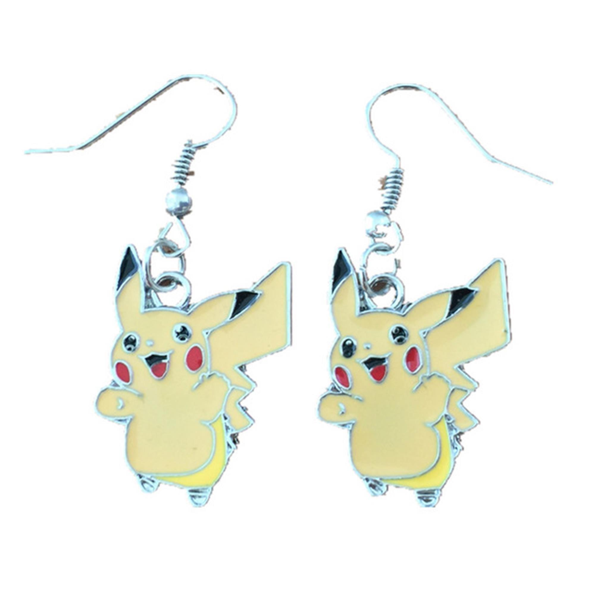 Outlander Pokemon Pikachu Earring Dangles In Gift Box From