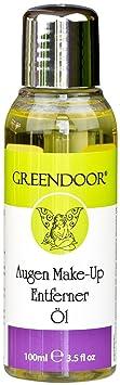 Greendoor Augen Make-Up Entferner Öl - entfernt schonend auch wasserfestes Makeup, brennt nicht/Eye Make-Up Remover, ohne Alk