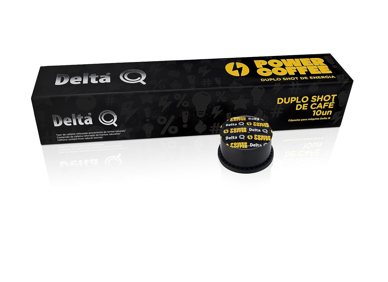Delta Q - Funda de 10 Cápsulas de café - Power Coffee: Amazon.es: Productos para mascotas