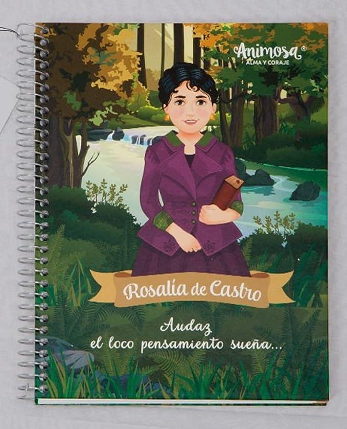 Libreta A5 Rosalía de Castro: Amazon.es: Oficina y papelería