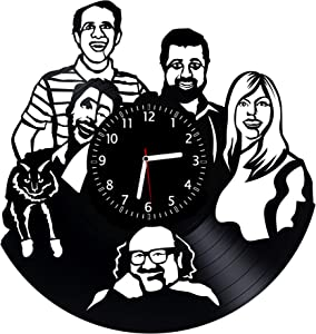It's Always Sunny in Philadelphia Vinyl Wall Clock 12