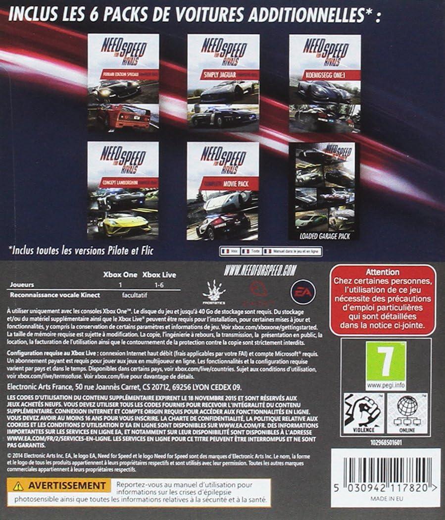 Need For Speed Rivals - Édition complete [Importación Francesa]: Amazon.es: Videojuegos