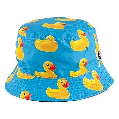 fc32e88f3 Neff Hats Ducky Reversible Bucket Hat - Blue-Yellow Blue-Yellow 1 ...
