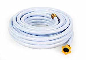 "Camco 75ft TastePURE Drinking Water Hose- Lead and BPA Free, Reinforced for Maximum Kink Resistance 5/8""Inner Diameter (22803)"
