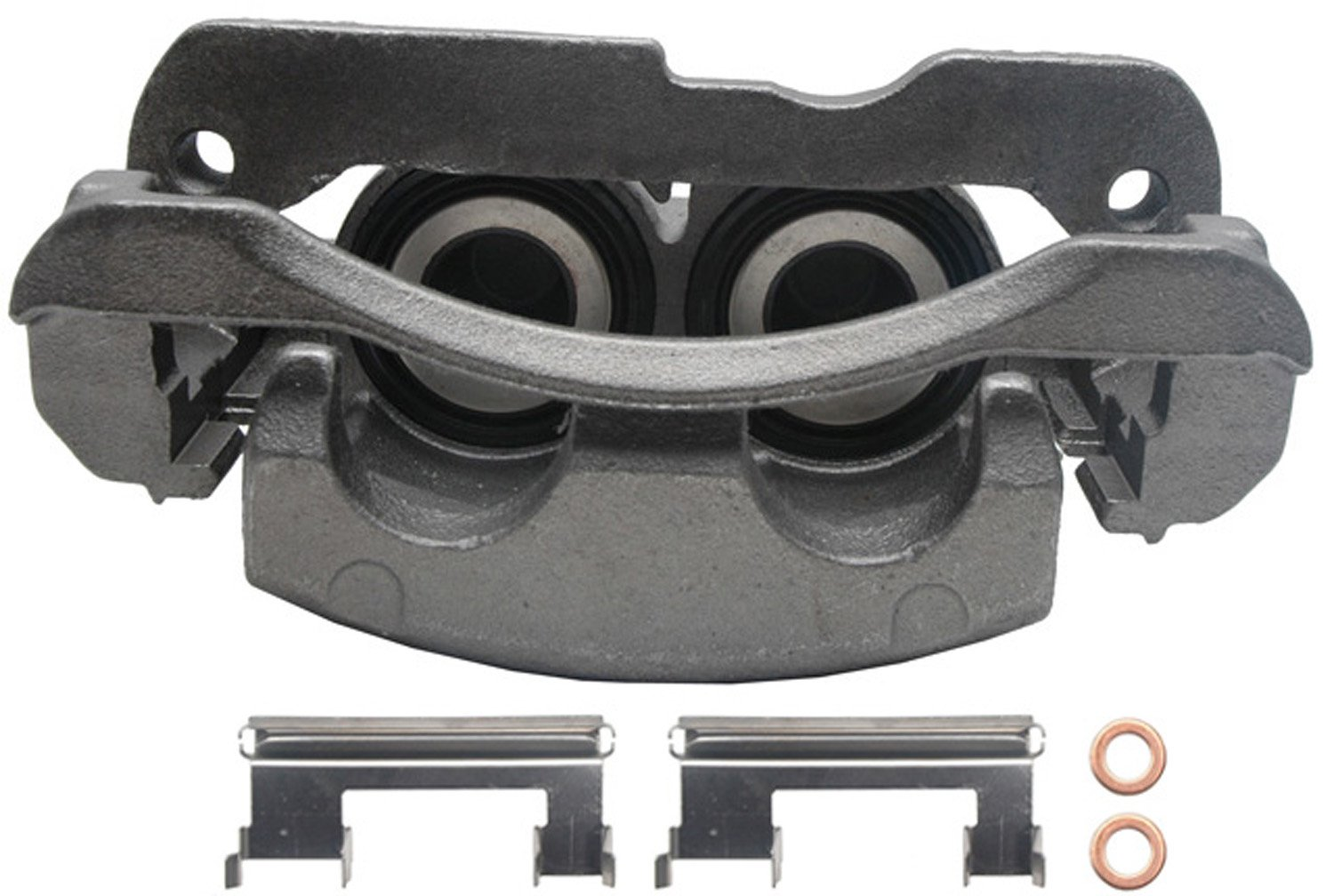 Remanufactured Friction Ready ACDelco 18FR1378 Professional Durastop Front Disc Brake Caliper Assembly without Pads